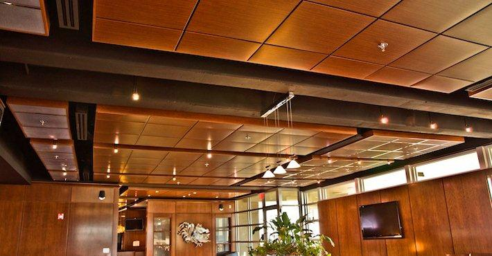 Metal Ceiling Systems Are Class A Fire Resistant, Seismic, Acoustical,  Anti Microbial, Humidity And Corrosion Resistance. Finishes Include  Standard Colors, ...